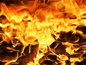 Semi truck lost in flames according to Chillicothe Fire Department