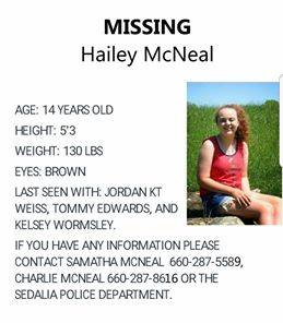 Warrensburg Police Department in search of missing teenager