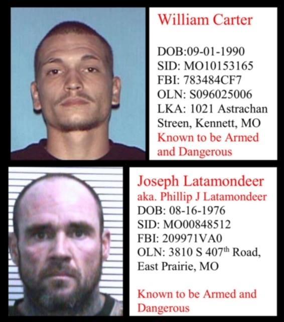 Dangerous Missouri fugitives still at large as authorities seek tips