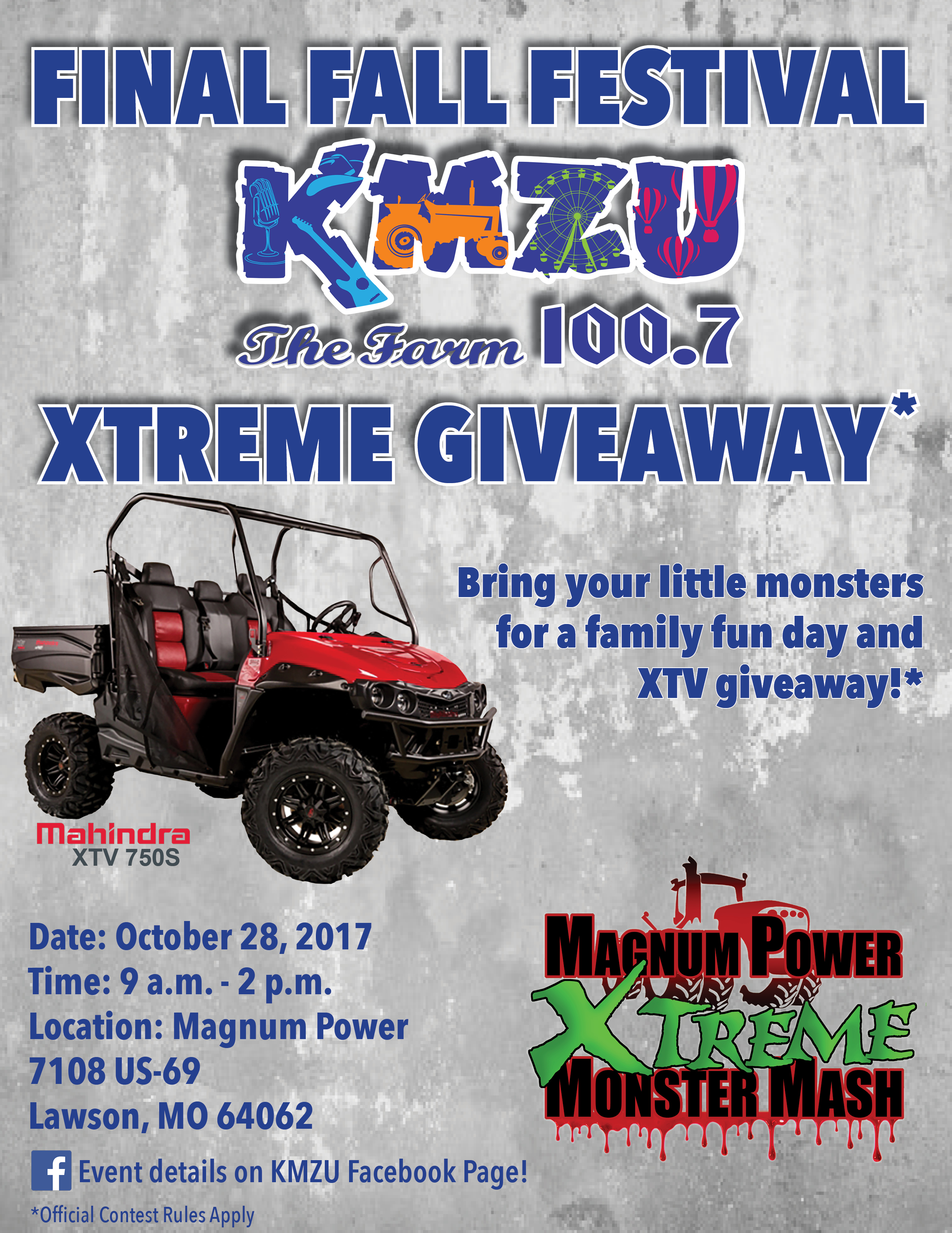 UPDATED FINAL:  KMZU Xtreme Give Away Finalists Announced!