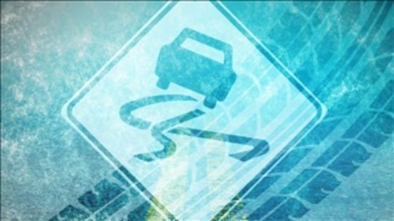 Ice blamed for crash and car fire in Saline County