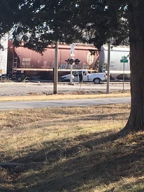DEVELOPING: Authorities investigating train versus truck collision in Hale at MO-139 crossing