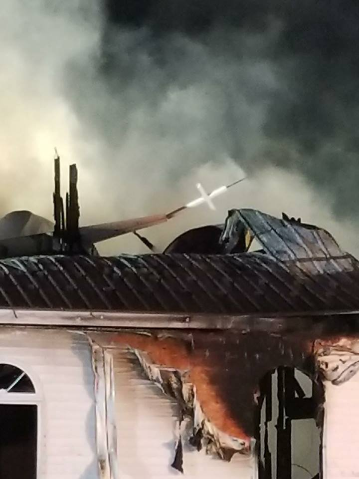 The Friendship Church determined to be  total loss after fire