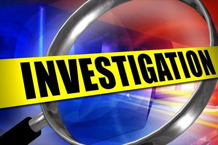 Vehicle Investigation Underway