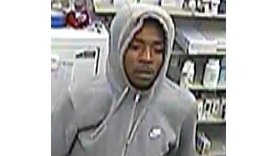 Belton Police seek identity of robbery suspect.