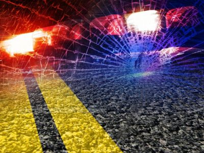 Vehicle maneuvers in intersection causes crash