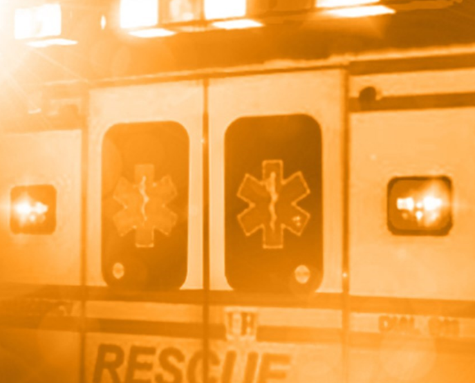 Sedalia passenger hospitalized after crash in ditch