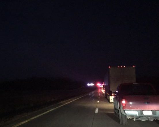 UPDATE: Highway 36, East of Hamilton is open after a serious crash
