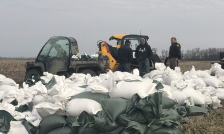 Volunteer efforts yield over 80,000 sandbags to support levees near Missouri River at Waverly