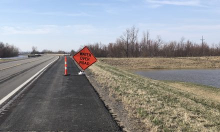 MoDOT allowing traffic on flooded Highway 65