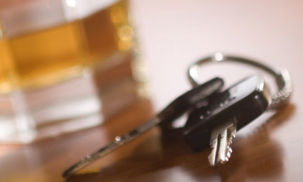Injury accident partly caused by driver intoxication