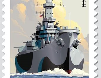 USS Missouri's 75th anniversary celebrated with Forever stamp