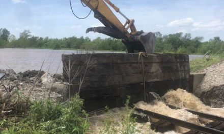 """We're holding our own"": Spill in Ray County levee patched Wednesday, but more rain is on the way"