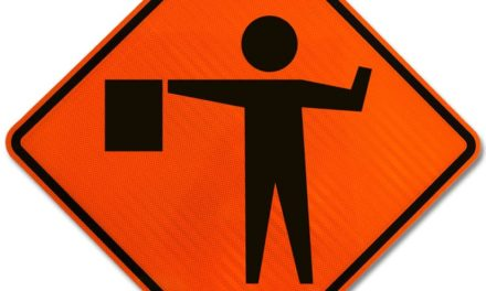 65 Highway down to single lane in southern Carroll County