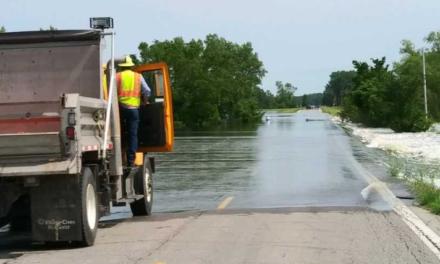 Highway 41 closed at DeWitt