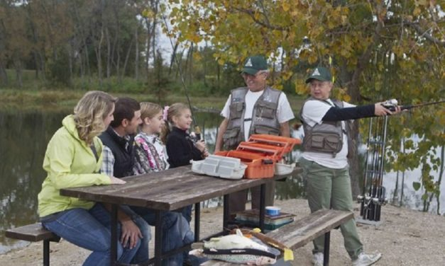 Free fishing classes at Marceline and Brookfield