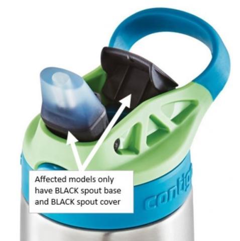 Kids Contigo water bottle lids recalled that pose choking risk