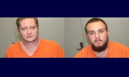 Two Livingston County men arrested for property damage and believed to be a danger to victim