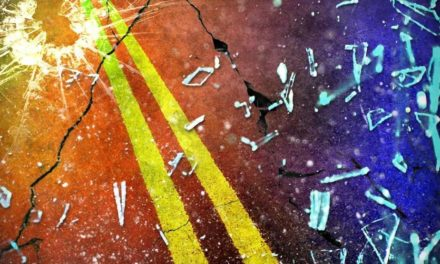 Truck jackknifes during injury crash near Osborn