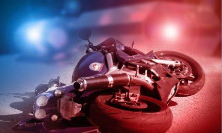 Driver of motorcycle dies in crash