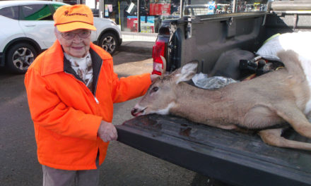 104-year-old woman lands buck with one shot opening day