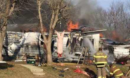 Fire fighters say chimney fire caused total loss of home