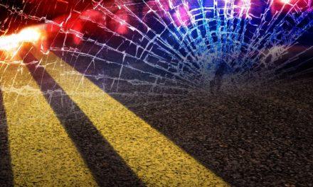 Bates City motorcycle driver injured in crash
