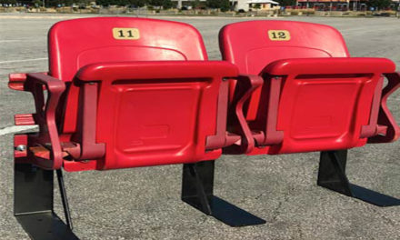 Kansas City Chiefs sell seats, literally