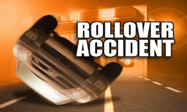 Warrensburg man flown to hospital after flipping over car