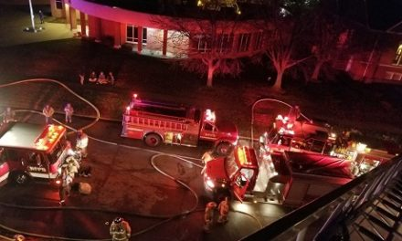 Several agencies responded to a fire in Higginsville