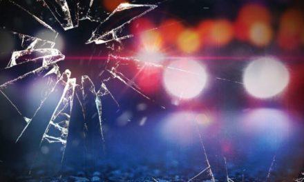 Vehicle crash over creek injures driver
