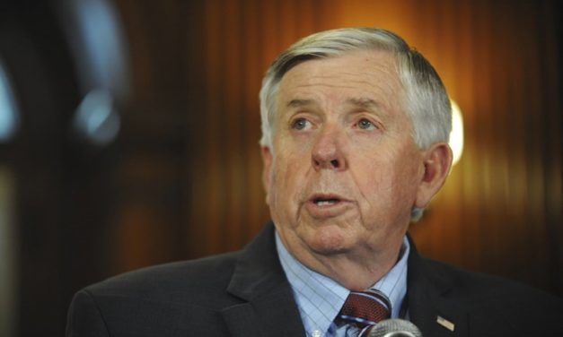 Parson says pardon likely if St. Louis couple charged
