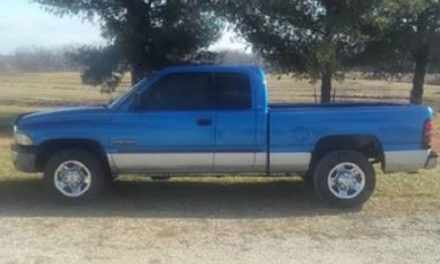 Stolen vehicle from Fayette sought by Sheriff