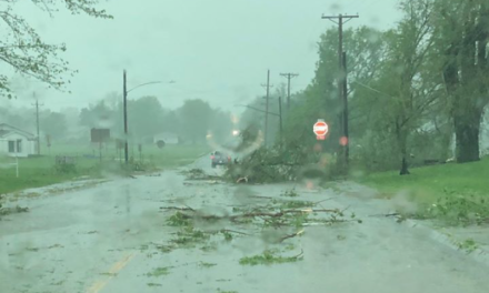 Cass Co. town gets brunt of storm