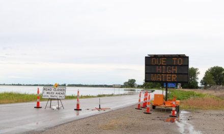 UPDATED:  Area roadways affected by flooding
