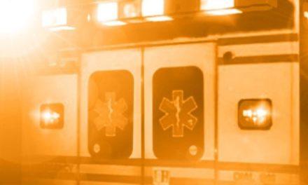 Wellington driver hospitalized after crash