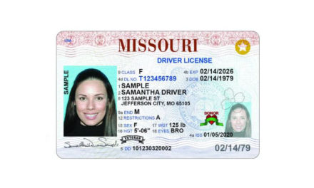 New Missouri driver's license add new security features