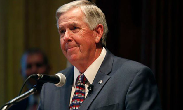 Gov. Parson embarks on bus tour, will stop in Lafayette County