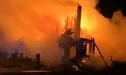 Enhanced photos released of arson suspect