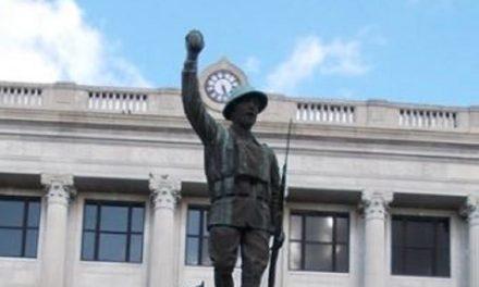 Sedalia veterans to raise money to help repair Doughboy statue