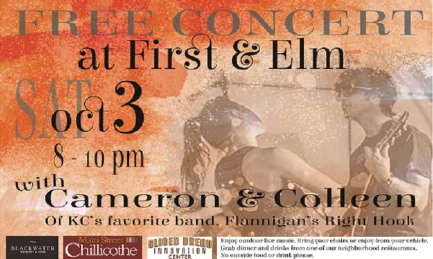Free concert set for Oct. 3 in Chillicothe
