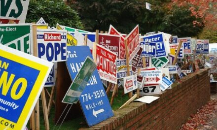 Campaign sign vandalism reported in Marshall, leads to arrests