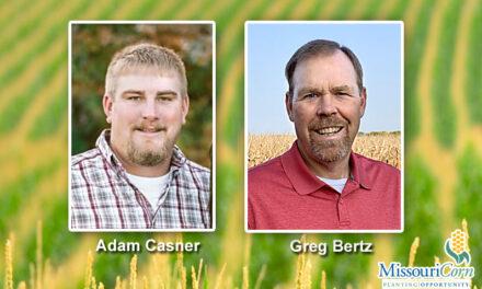 Bertz, Casner elected to Missouri Corn Merchandising Council
