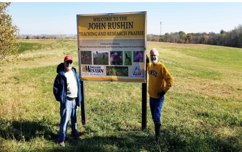 Project provides a native grassland in St. Joseph for enjoyment and education
