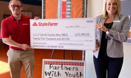 Carroll County Area YMCA wins $25,000 grant for the third time