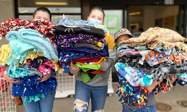 Area 4-Hers give the gift of warmth, comfort as part of Linus Project