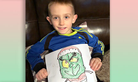 He's a kind one, Mr. Grinch. 5-year-old's artwork creates fundraiser for kids with cancer