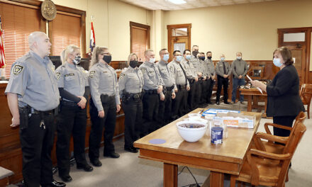 New Ray County Sheriff ushers in new force