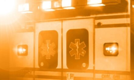 Driver hospitalized after crash south of Maysville