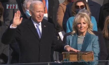 Biden takes the helm as president: 'Democracy has prevailed'
